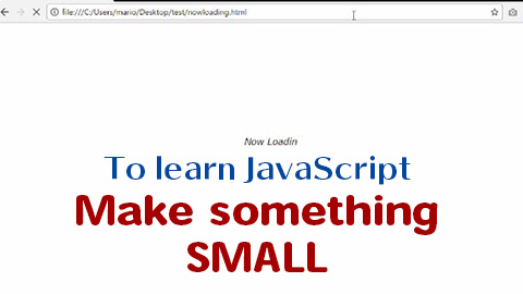 JS-now-loading