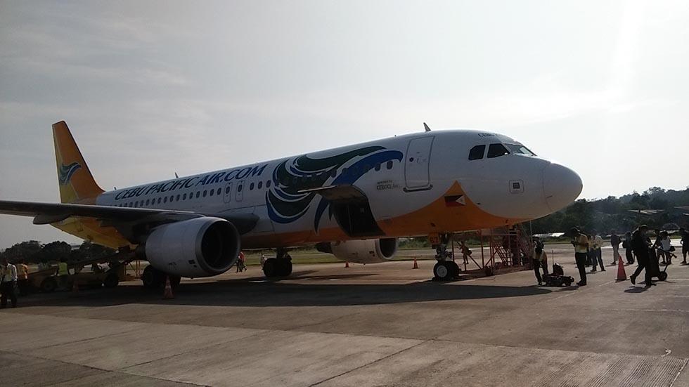 セブパシフィック飛行機 ボホール島への行き方
