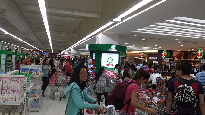 海外仕事探しの注意-スーパーマーケット