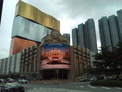 香港へ夫婦で旅行 マカオのカジノへ