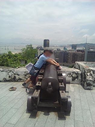 香港へ夫婦で旅行 マカオで仲良く写真を撮ろう