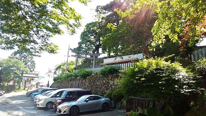赤ちゃんと温泉 おすすめの関東の宿ー駐車場