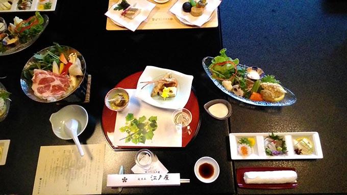 赤ちゃんと温泉 おすすめの関東の宿ー 料理が美味しい