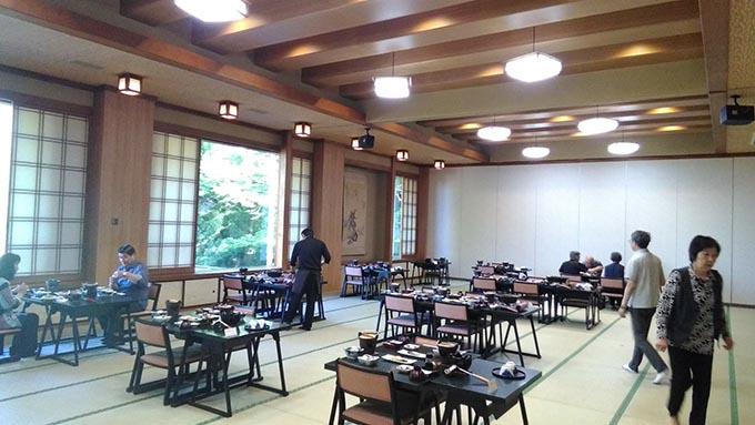 赤ちゃんと温泉 おすすめの関東の宿ー朝食