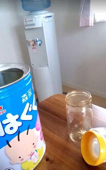 クリクラだとミルク作りが楽