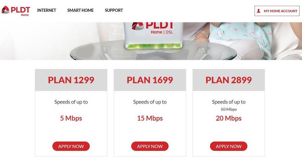 フィリピンのインターネット環境 PLDT