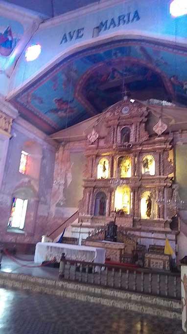 ボホール観光 バクラヨン教会
