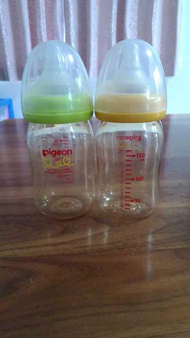 哺乳瓶の大きさ 小さいボトル