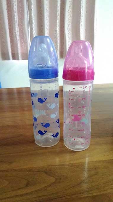 哺乳瓶の大きさ以外の注意点 NUKの哺乳瓶
