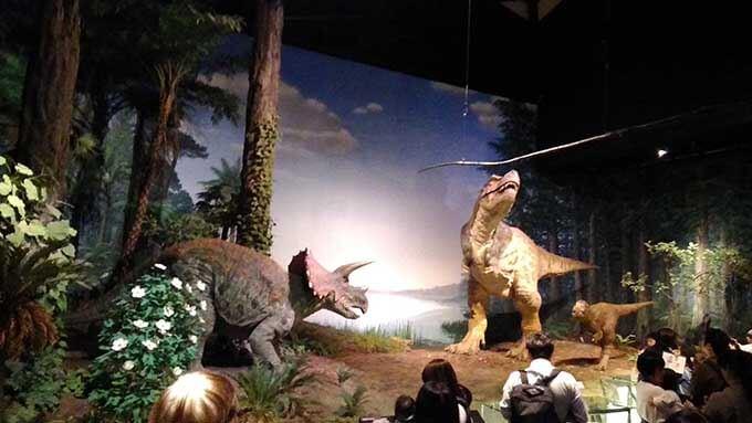 子供と楽しむ博物館へ行こう 実寸の恐竜