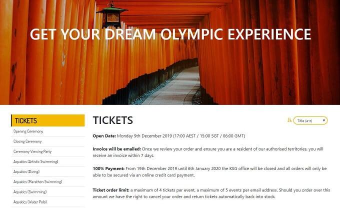 東京オリンピックの人気競技・種目は